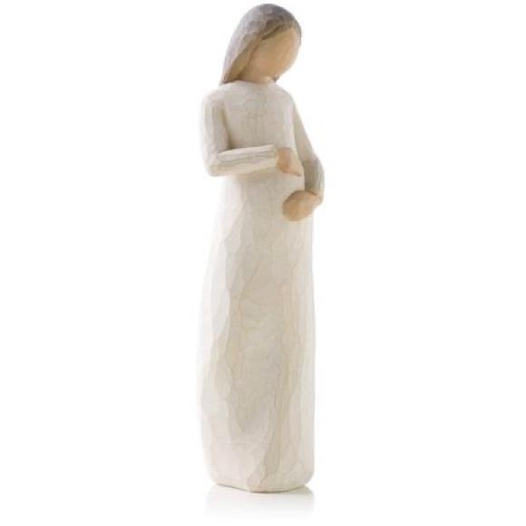 Willow Tree Cherish Pregnancy New Baby Figurine